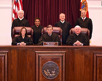 Supreme Court of Florida - The Justices as of 2017