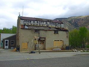 National Register of Historic Places listings in Box Elder County, Utah - Image: Flouring Mill Brigham City Utah
