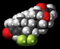 Flumedroxone 3D spacefill.png