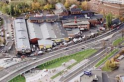 Tva till sjukhus efter brand i goteborg