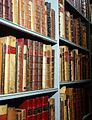 Folio books in strong rooms, Wellcome Institute Library. Wellcome L0015801.jpg