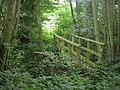 Footbridge in Wallfurlong Rough - geograph.org.uk - 941773.jpg
