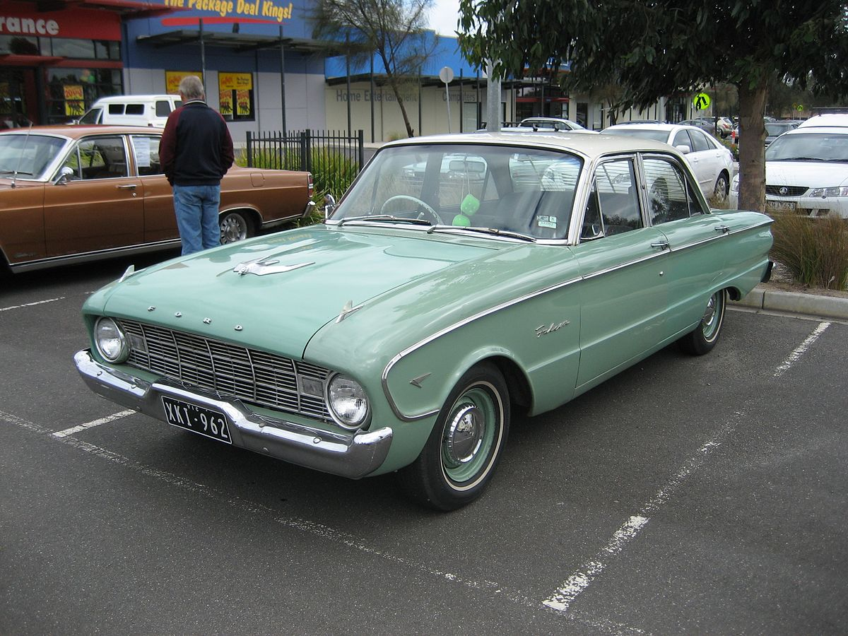 Ford Falcon (XK) - Wikipedia