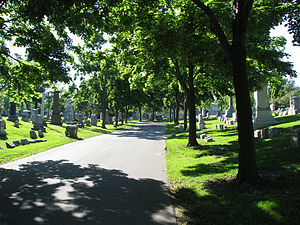 Forest Lawn Cemetery (Buffalo) - Image: Forest Lawn Cemetery Buffalo New York 2009 05 21