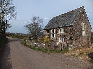 Ash Thomas - Image: Former school at Ash Thomas (geograph 2863120)