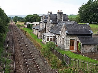Arkholme for Kirkby Lonsdale railway station Disused railway station in Lancashire, England
