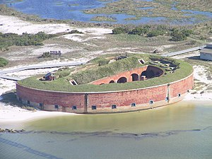 Ship Island (Mississippi) - Fort Massachusetts