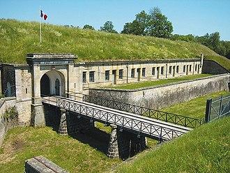 Séré de Rivières system - Entry, Fort d'Uxegney