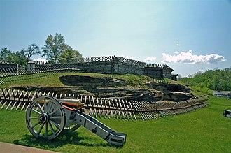 Fort Ligonier - Image: Fort Ligonier 3