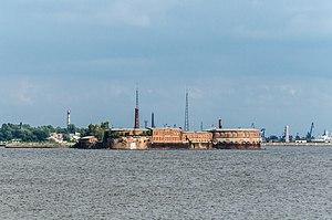 Kronshtadtsky District - Fort Peter I in Kronstadt, Kronshtadtsky District