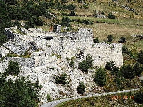 Forts de l'Essseillon, 1820-1840, Fort Charles-Félix.jpg