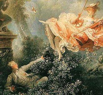 Upskirt - Detail from Fragonard's The Swing (1767)