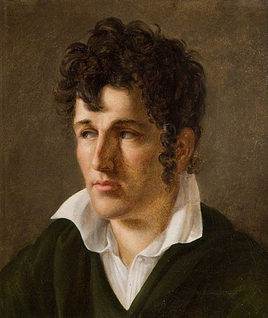 Young Chateaubriand, by Anne-Louis Girodet (c. 1790) Francois-Rene de Chateaubriand by Anne-Louis Girodet de Roucy Trioson.jpg