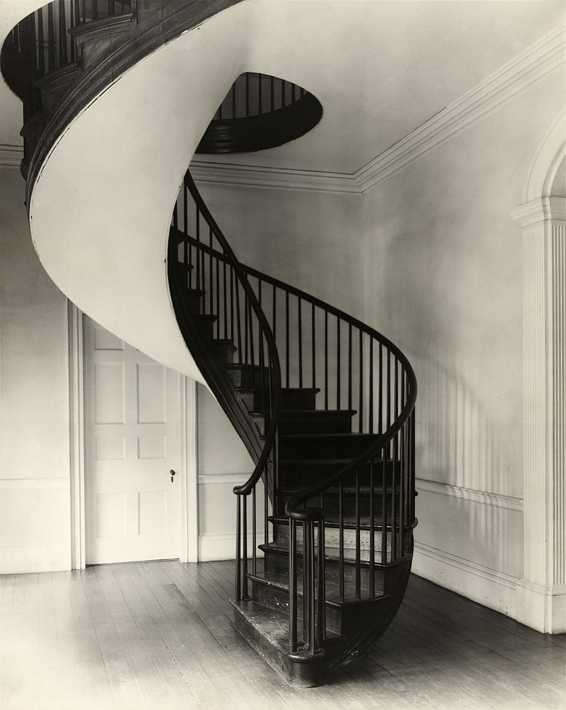 Exceptionnel File:Frances Benjamin Johnston, Spiral Staircase, Auburn, Natchez,  Mississippi, 1938