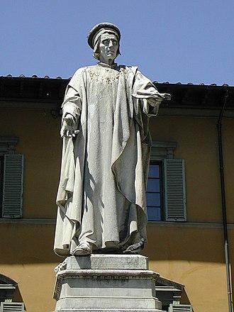 Francesco Datini - Statue of Datini in Prato.