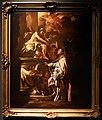 Francesco solimena, sant'andrea in conversazione con sant'agostino, bozzetto per una pala in s.m. donnaregina nuova a napoli.jpg