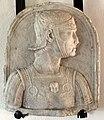 Francia (attr.), rilievo con busto di armato, xvi sec.JPG