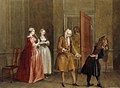 Francis Hayman (1708-1776) - An Episode from 'The Mock Doctor' or 'Dumb Lady Cured' (from Henry Fielding's adaptation of 'Le médécin malgré lui' by Molière, 1732) - 998399 - National Trust.jpg