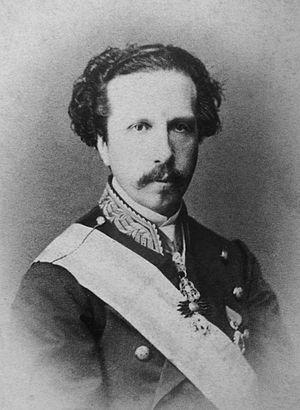 Francis, Duke of Cádiz - Photograph by Herbert, c 1860