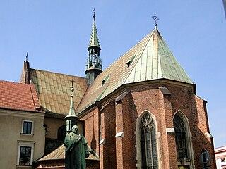 Church in Kraków, Poland