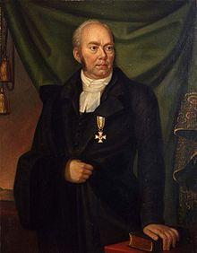 August Hermann Niemeyer, nach 1817 (Verleihung des Roten Adlerordens III. Klasse) (Quelle: Wikimedia)