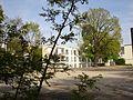 Frankfurt-Bockenheim leergeräumtes Grundstück des ehemaligen Sozialrathauses Bockenheim.JPG
