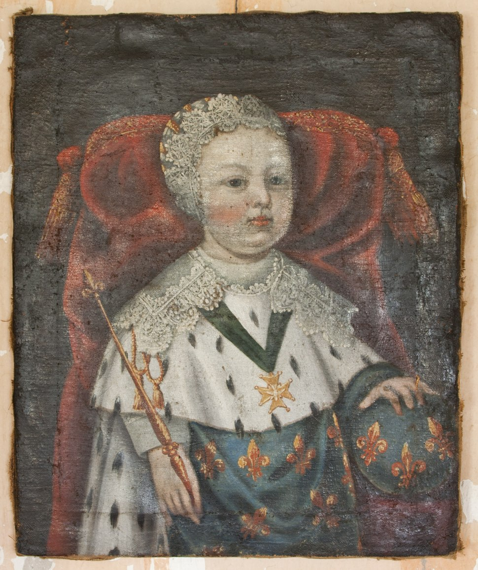 Fransk barnprins, troligen Ludvig XIV eller XV fr%C3%A5n 1600-talets f%C3%B6rsta h%C3%A4lft - Skoklosters slott - 95015