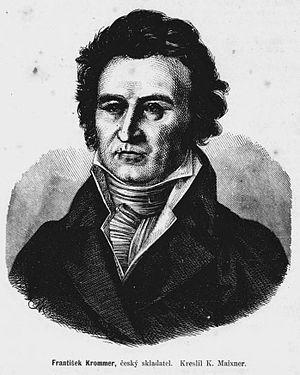 Portrait of Franz Krommer (Czech: František Kr...