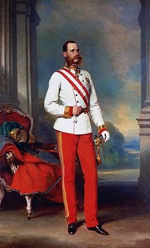 Radetzky March (novel) - The Emperor: Franz Joseph in Austrian Field Marshal uniform.