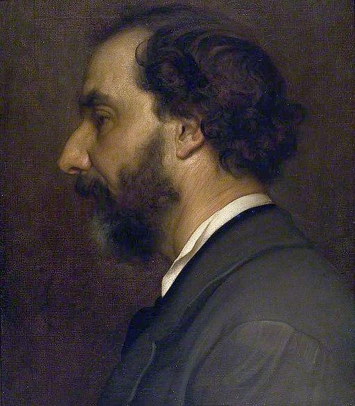 Frederic Leighton, portrait of Giovanni Costa