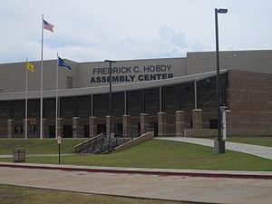 Fredrick C. Hobdy Assembly Center - Image: Frederick C. Hobdy Assembly Center IMG 3659