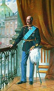 King of Denmark from 1906 to 1912