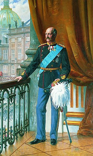 Frederick VIII of Denmark - Painting by Otto Bache, 1910
