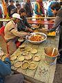 Free Food Distribution - Gangasagar Fair Transit Camp - Kolkata 2012-01-14 0617.JPG