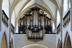 Freistadt - Stadtpfarrkirche, Orgel.JPG