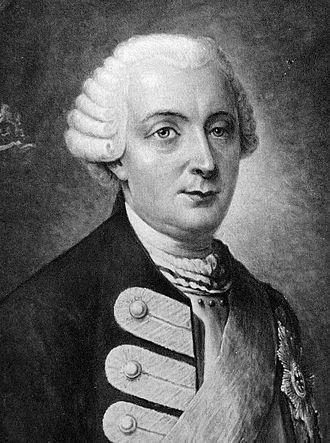Friedrich Wilhelm Quirin von Forcade de Biaix - circa 1758