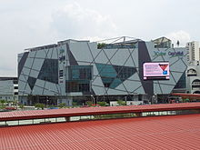 Front view of JCube, a shopping mall in Jurong East, Singapore.jpg