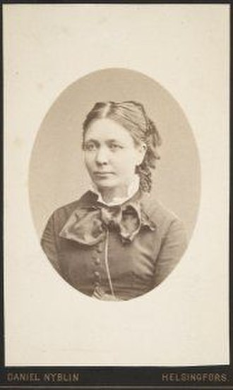 Alexandra Frosterus-Såltin - Alexandra Frosterus-Såltin. Photograph by Daniel Nyblin