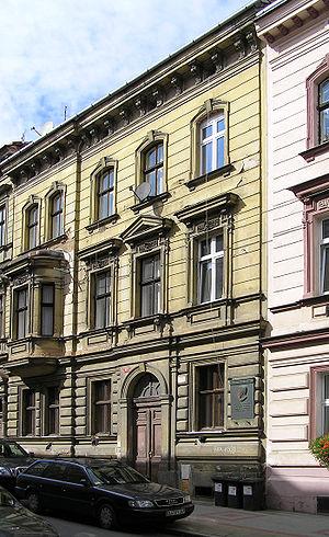 Julius Fučík (journalist) - House in Pilsen where Fučík lived in 1913-1937