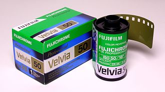 Velvia - Image: Fujichrome RVP50