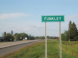 Funkley, Minnesota.
