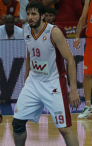Furkan Aldemir - Aldemir with Galatasaray in 2013.