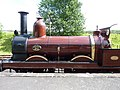 Furness Railway No. 20, Town railway station, Beamish Museum, 2 July 2010.jpg