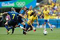 Futebol feminino olímpico- Brasil e Suécia no Maracanã (29033094755).jpg