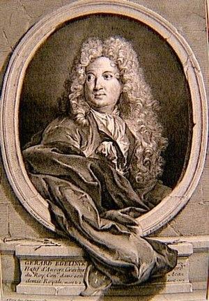 Gérard Edelinck - Portrait of Gérard Edelinck by his son Nicolas
