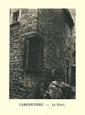 G.-L. Arlaud-recueil Vals Saint Jean-Largentière, le pilori.jpg