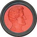 G Cuvier, médaillon en terre cuite de Aimé Charles Irvoy, 1871.jpg