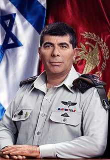 Gabi Ashkenazi Israeli military leader and politician