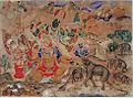 Gajendra Moksha- The Salvation of the King of the Elephants (6125145590).jpg