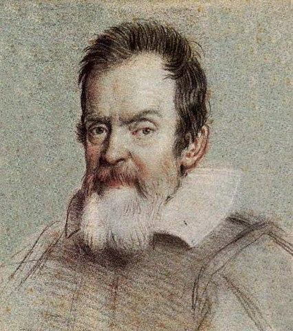 Портрет Галилео Галилея работы Оттавио Леони